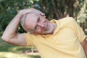 Senior-doing-neck-stretches-350x234